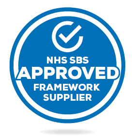 NHS SBS Approved Framework Supplier Logo